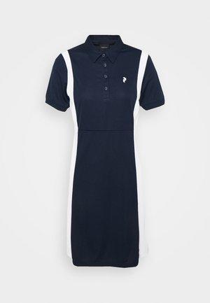 ALTA BLOCK DRESS - Sports dress - blue shadow/white