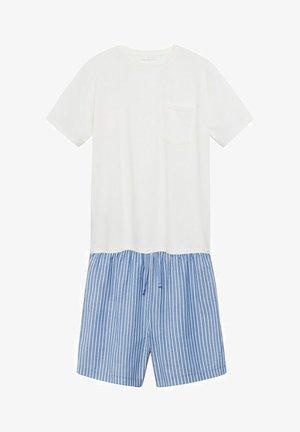 2 PACK - Pyjama set - råhvid