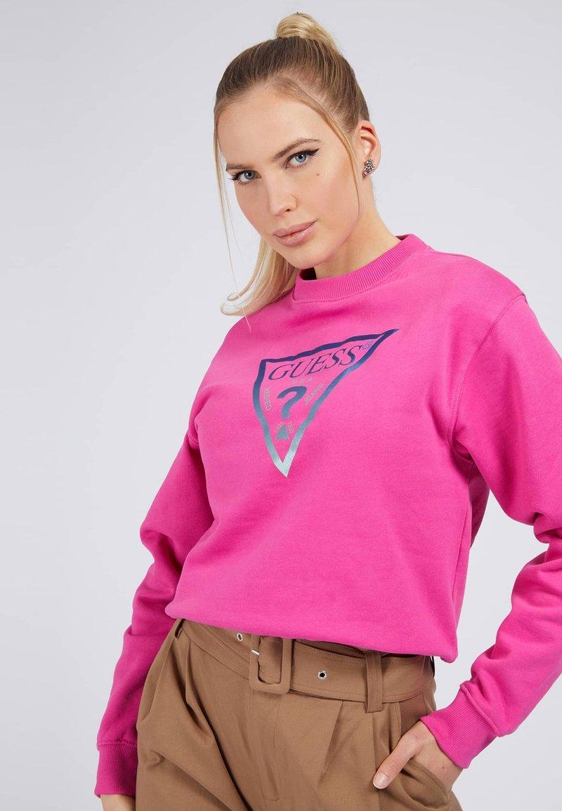 Guess - KARIDA  - Sweatshirt - fuchsia