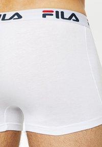 Fila - TRUNK 3 PACK - Onderbroeken - white/black/navy - 2