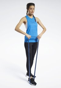 Reebok - WORKOUT READY ACTIVCHILL TANK TOP - Top - blue - 1