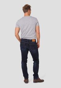 MARCUS - Straight leg jeans - twilight blue used - 2