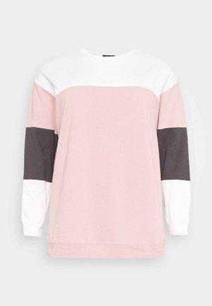 COLOUR BLOCK  - Sweatshirt - pink