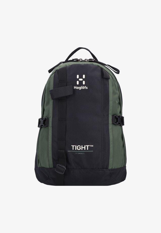 TIGHT X-SMALL - Rucksack - true black fjell green