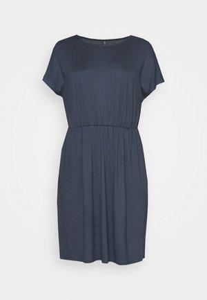 Korte jurk - ombre blue