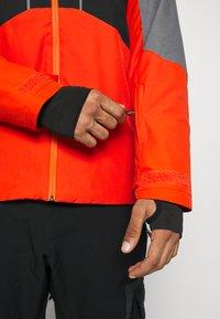 Quiksilver - MISSION PLUS - Snowboard jacket - pureed pumpkin - 3