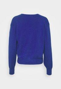 Marks & Spencer London - NEEDLE CARDI - Strikjakke /Cardigans - blue - 1