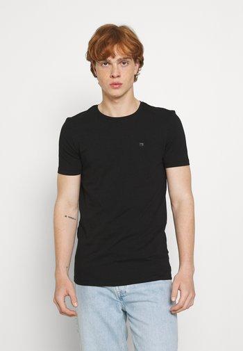 LOGO TEE 2 PACK - Camiseta básica - black