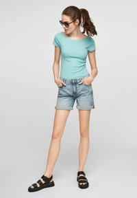 QS by s.Oliver - Basic T-shirt - turquoise - 1