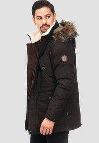 INDICODE JEANS - BAYNES - Winter coat - chocolate - 3