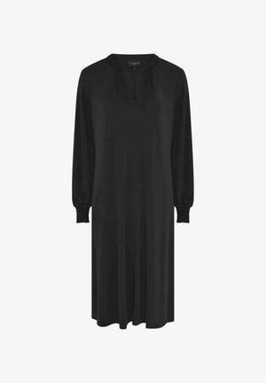 SWING - Jersey dress - black