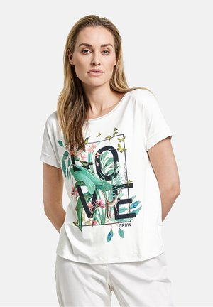 LET LOVE GROW - T-shirt print - off-white