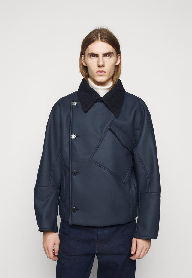 THINKING IT JACKET - Giacca in similpelle - dark blue
