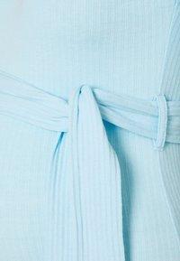 Missguided Maternity - SPLTSIDE MIDI DRSS - Maxi dress - blue - 2