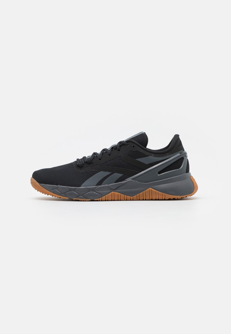 Reebok - NANOFLEX TR - Sports shoes - core black/pure grey