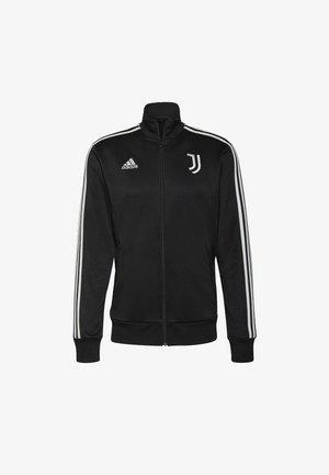 JUVE 3S TRK TOP - Klubové oblečení - black/white