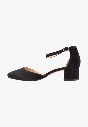 LEATHER - Bridal shoes - black