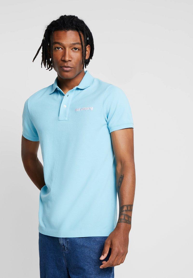 Best Company - BASIC - Poloshirt - cielo