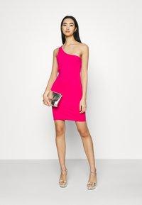 4th & Reckless - MARINA DRESS - Jersey dress - hot pink - 1