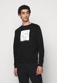 KARL LAGERFELD - Sweatshirt - black/white - 0