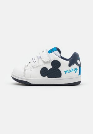 Disney Mickey Mouse GEOX BABY NEW FLICK BOY - Sneakers laag - white/navy