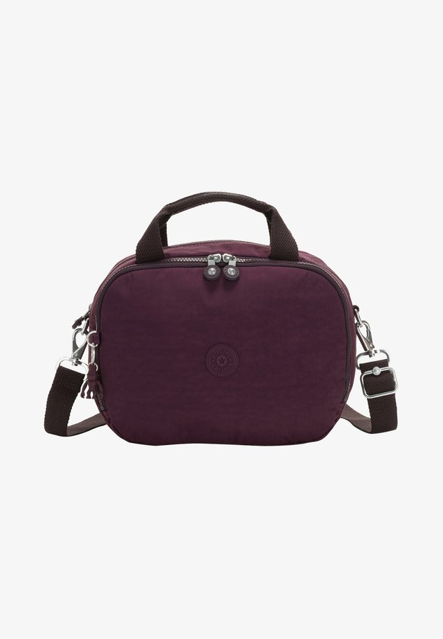 Wash bag - dark plum