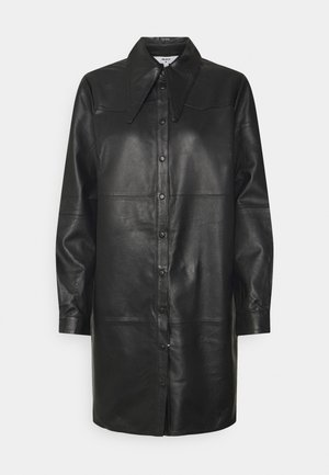 OBJRILEY - Robe chemise - black