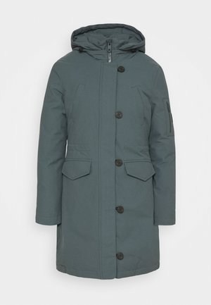 GROENLAND COAT WOMAN - Cappotto invernale - green shadow