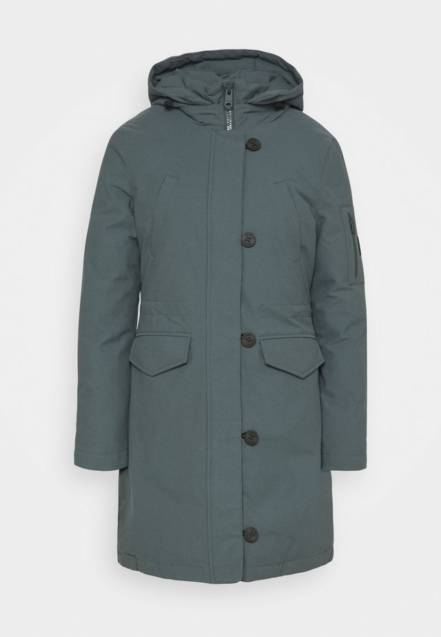GROENLAND COAT WOMAN - Abrigo de invierno - green shadow