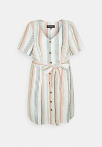 ONLY Carmakoma - CARSTACYI KNEE DRESS - Day dress - desert sage/multi - 0