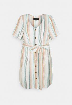 CARSTACYI KNEE DRESS - Day dress - desert sage/multi