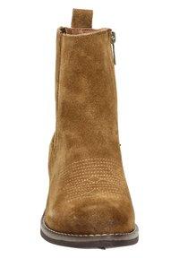 Nelson - Cowboy/biker ankle boot - cognac - 3