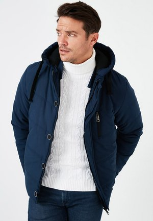 BURATTI - Winter jacket - indigo