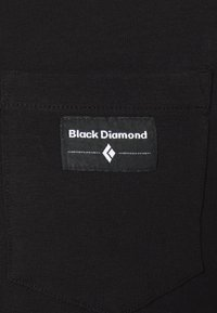 Black Diamond - POCKET LABEL TEE - T-shirt print - black - 2