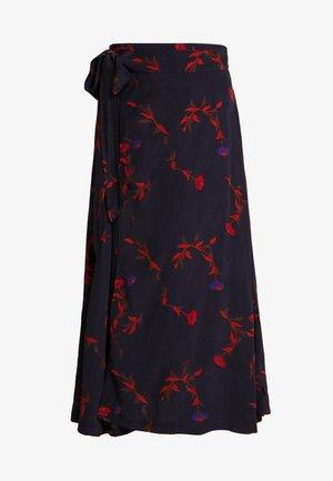 JASMIN SKIRT - Wrap skirt - black picabella