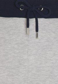 Carlo Colucci - SIDE TAPE LOGO - Tracksuit bottoms - grey/blue - 2