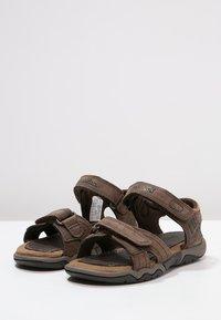 Timberland - OAK BLUFFS - Sandals - dark brown - 2