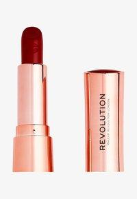 Make up Revolution - SATIN KISS LIPSTICK - Rossetto - ruby - 0