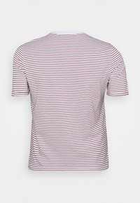 Pieces Curve - PCRIA FOLD UP TEE - Print T-shirt - bright white/apple butter - 1