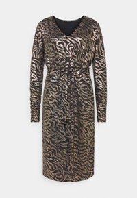 Ilse Jacobsen - DRESS SHORT - Cocktail dress / Party dress - platin/black - 0