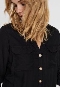 Vero Moda - Button-down blouse - black - 3