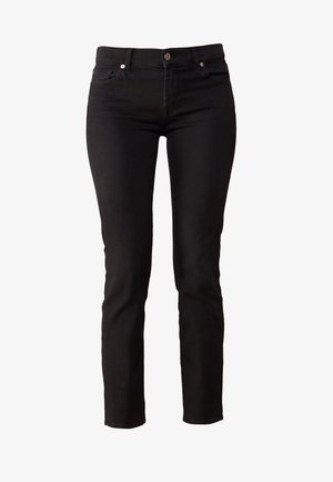 ROXANNE - Jeans slim fit - bair rinsed black