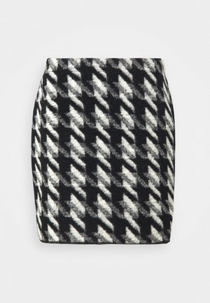 RAVENNA - Mini skirt - black