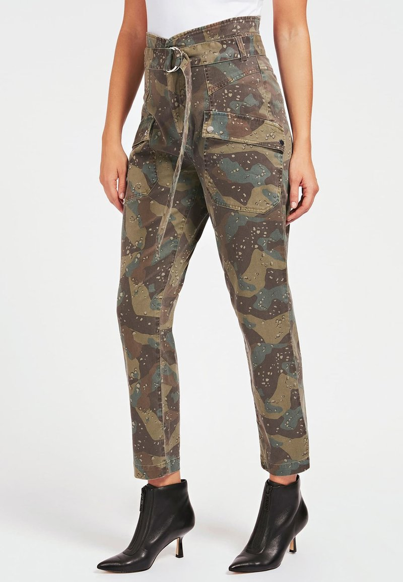Guess - Cargo trousers - camouflage
