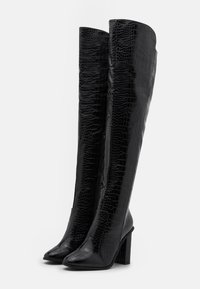 RAID Wide Fit - WIDE FIT CYNTHIA - Over-the-knee boots - black - 2