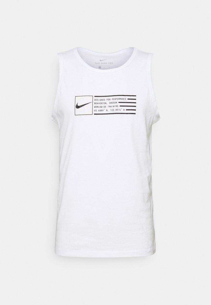 Nike Performance - TANK - Top - white