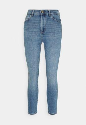FARROW HIGH RISE INSTACULPT CROP - Jeans Skinny Fit - marine