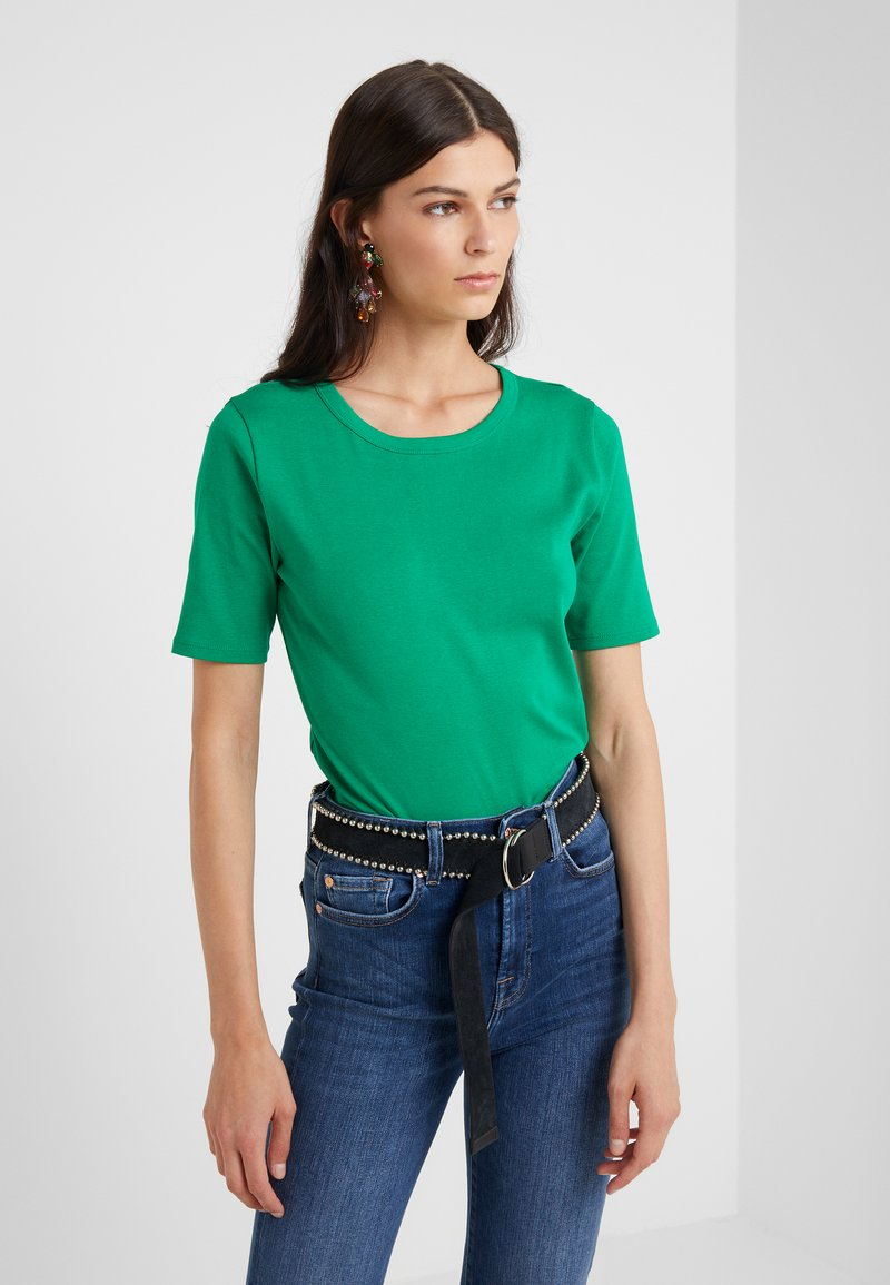 J.CREW - CREWNECK ELBOW SLEEVE - Basic T-shirt - sea moss