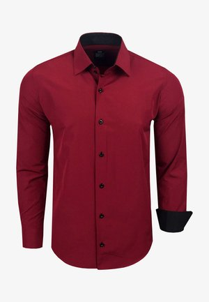 FREIZEIT-HEMD - Shirt - bordo