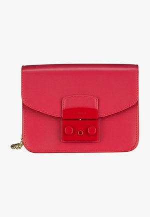 METROPOLIS MINI  - Across body bag - ruby